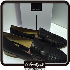 DOLCE VITA Cealey Black Flat Loafers RRP $159.00 Size 8.5