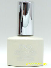 CND SHELLAC LUXE Gel Color 0.42fl.oz NEW FORMULA Luxe318- White Wedding