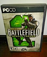 Battlefield 2 Special Forces Expansion Pack PC CD Warfare Combat Military Game