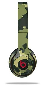 Skin Beats Solo 2 3 Old School Camouflage Camo Army Headphones NOT INCLUDED