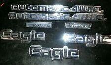 AMC EAGLE & 4 Wheel Drive BADGES Nameplates