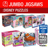 JUMBO JIGSAWS AND PUZZLES DISNEY THEMED FULL RANGE TO CHOOSE FROM - BRAND NEW
