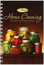 Mrs. Wages Home Canning Guide Book & Recipes - 120 tested recipes NEW
