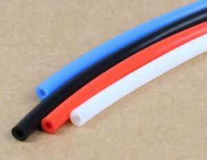 Tuyau / Tube PTFE (Téflon) rouge, noir ou bleu pour filament diamètre 1.75mm