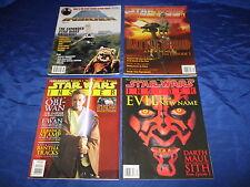 Star Wars Insider (1994) #31 40 41 42 Official Star Wars Fan Club Mag Avg Fn/Vf