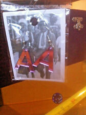 Letter A Initial Earrings New Pinky Reflective Tiger Anna Anne Amber Abigail