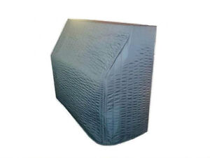 """Black Quilted Upright Piano Cover - For Vertical Pianos from 36"""" - 44"""" tall"""