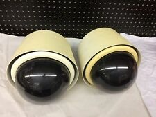 Lot of 2 Untested Honeywell HDSD00N1 PTZ Pan Tilt Zoom Security Camera w/ Dome