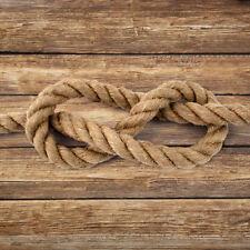 JUTESEIL 6-60mm ab 5 Meter Tauseil Hanfseil Naturhanf Jute Rope Tauziehen Seil
