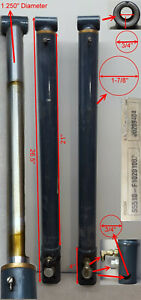 Set of 2 Hydraulic Cylinders S5510-F1020100A. Sold as-is.