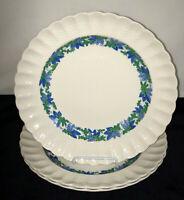 """3 Spode Copeland VALENCIA* 10 1/2"""" DINNER PLATES*S1248*"""
