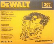 DEWALT DCS331B 20V Max * Inalámbrico Jig Saw (Herramienta Solamente) 20 Voltios -!!! nuevo!!!