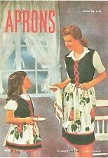 Aprons Sewing Pattern Book  Mother Daughter Over 18 Patterns