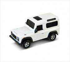 1:72 Die Cast Metal Land Rover Defender USB Flash Drive 8GB (White)