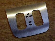 Electric window switch stainless steel surround Mazda MX-5 mk1, JDM type s/s MX5