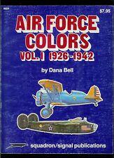 Rare Vintage Squadron Signal Magazine Air Force Colors Vol 1 Aircraft Plane