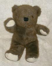 "13"" Vintage Brown Wind Up Musical Baby Teddy Bear Stuffed Animal Plush Toy Korea"