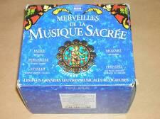 BOX 10 CD / MERVEILLES DE LA MUSIQUE SACREE / TRES BON ETAT