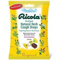 Ricola Natural Herb Cough Drops, Original 21 ea
