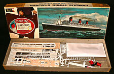 Maquette Vintage REVELL - R.M.S. Queen Mary - 1962 - RARE !