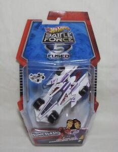 2010 Hot Wheels Battle Force 5 Fused SonicClash RARE