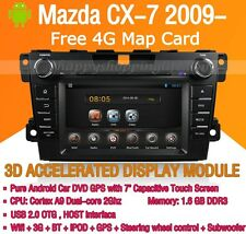Android Car DVD Radio Stereo GPS Wifi BT for Mazda CX-7 2010 2011 2012 2013 2014