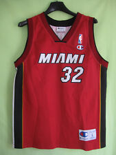 Maillot Basket Heat Miami O'Neal #32 NBA Vintage Champion Jersey - 11 / 12 ans