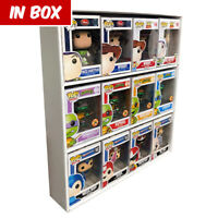 IN BOX Display Cases for Funko Pops, White Corrugated Cardboard