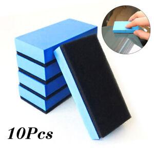 10pcs/set Car Auto Clay Bar Pad Sponge Block Cleaner Detailing Cleaning Eraser
