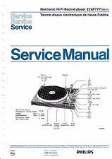 Service Manual-Anleitung für Philips 22 AF 777