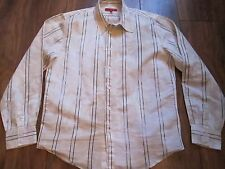 Mens SONNETI Long Sleeved Buttoned Casual Shirt Size XL In IMMACULATE CONDITION