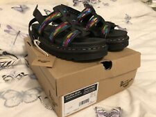 Dr Martens Yelena sandals in rainbow sequin BNWT UK Size 7