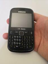 Samsung Chat 335 - Metallic Black (Unlocked) Smartphone