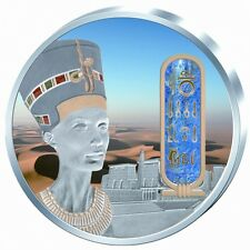 Fiji 2012 $50 EGYPTIAN JEWELS NEFERTITI SILVER GOLD AND PALLADIUM COIN LIMITED