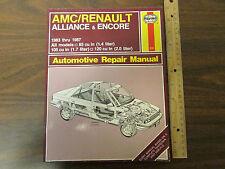 Haynes AMC/Renault Allience & Encore 1983-1987 Repair Manual