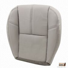 2007-2014 Chevy Silverado Driver Replacement Bottom Leather Seat Cover Gray #833