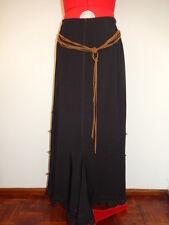 The perfect black Jersey Skirt.  Boho design.