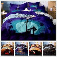 3D The Nightmare Before Christmas Jack Bedding Set Duvet/Quilt Cover Pillow Sham