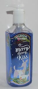 1 BATH BODY WORKS MERRY BERRY KISS DEEP CLEANSING HAND SOAP WASH VANILLA GINGER