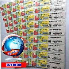 WINDOWS 10 PRO PROFESSIONAL 32/64Bit ORIGINAL LIZENZ SCHLÜSSEL AUFKLEBER STICKER