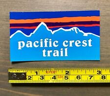 Pacific Crest Trail Sticker Decal Pct Mountains Hiking Hike Hiked Camping Po