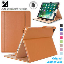 Leather Smart Tablet Stand Flip Case Cover For iPad 5 6, Air 1, 2 iPad Pro, Mini