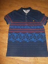 Lyle & Scott Polo Shirt | RRP £95 | 100% Genuine | Size: UK L | 80's CASUALS