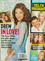 People Magazine April 2005 Drew Barrymore in Love - Britney Spears No Label