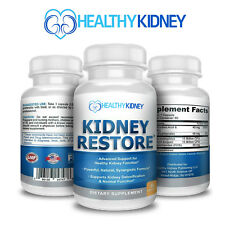 Kidney Cleanse Complete Flush Toxins Revitalize Kidneys Supplement 60 Capsules