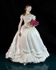 Royal Worcester The Official Anniversary Figurine Of The Year 2000 1st Quality