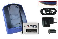 Chargeur+Batterie -USB- LP-E12 pour Canon EOS 100D, EOS M, EOS Rebel SL1