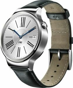Huawei Smartwatch 42mm Stainless Steel 55020533 - Silver Leather