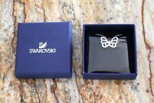 Swarovski silver crystal butterfly necklace