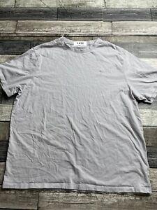 Mens American Eagle Crew Neck T Shirt XXL 2XL Gray Short Sleeve Cotton